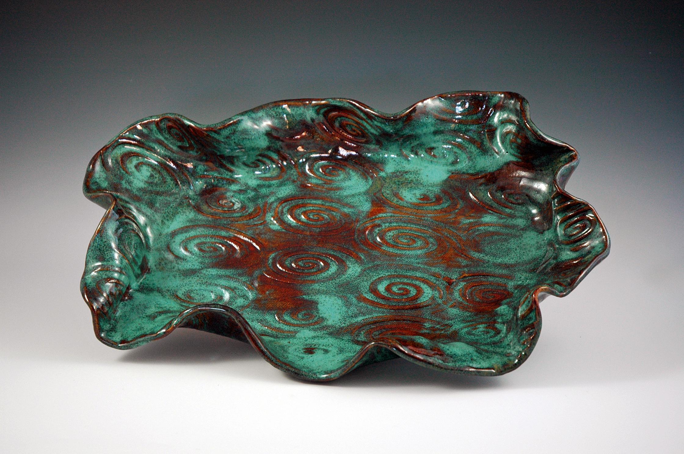 MA Design Turquoise Platter